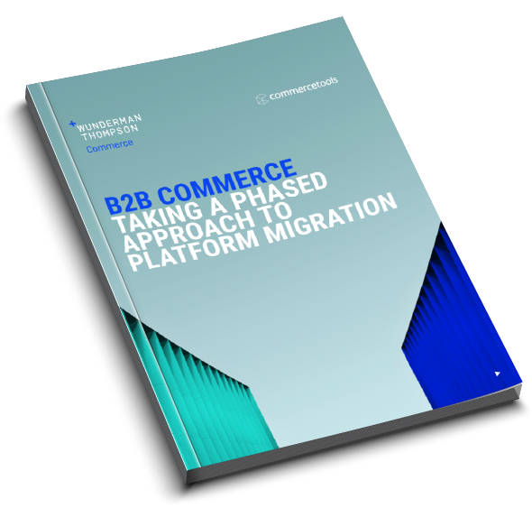 B2B Commerce taking a fast pased approach to platform migration
