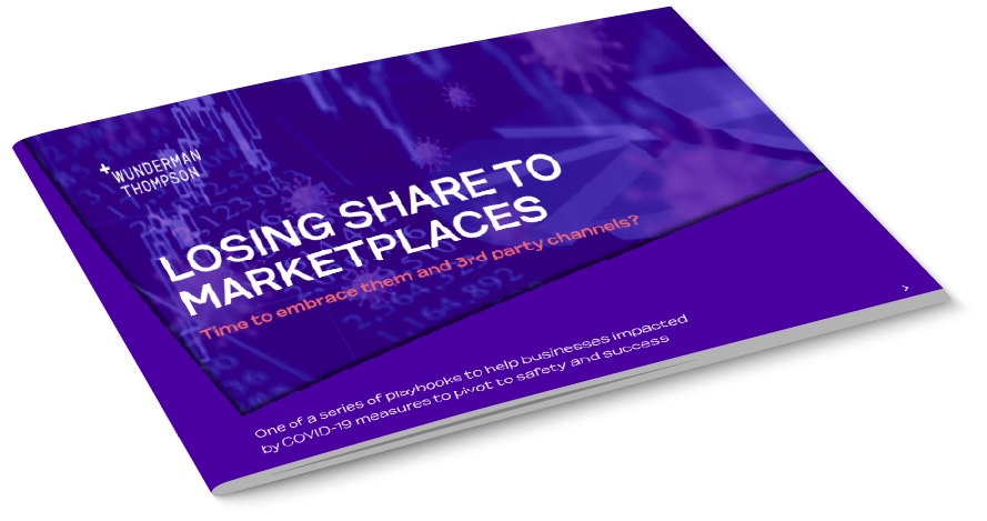 Losing share to marketplaces brochure